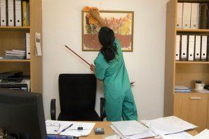 Nettoyage de bureaux et espaces de travail