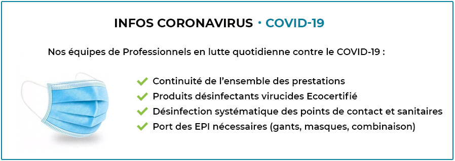 informations COVID 19 : actions quotidiennes d'Accord Service